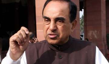 congress attacks subramanian swamy s convoy with...
