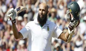 amla leaves for home to be with his expecting...