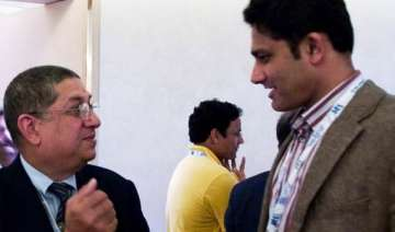 anil kumble resigns from post of nca chairman...