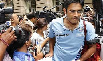 bcci and kumble at loggerheads over resignation -...