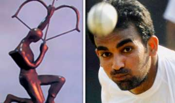 bcci recommends zaheer for arjuna award - India TV
