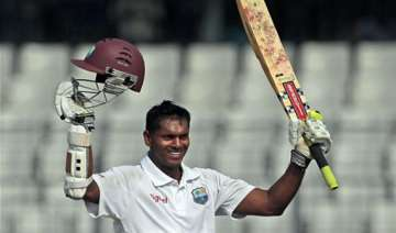 chanderpaul 150 not out as windies take 261 run...