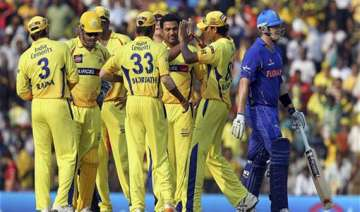 chennai super kings cruise to a eight wicket win...
