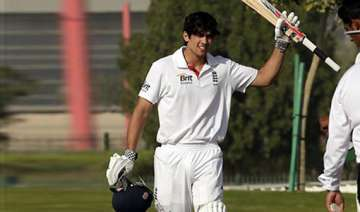 cook scores a ton to prop up england - India TV