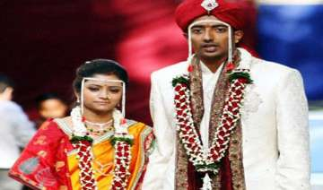 cricketer ankit chavan weds neha to return to...