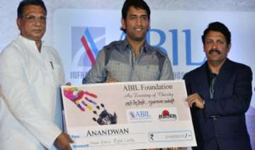 dhoni hands over rs 3 cr to baba amte s ngo -...