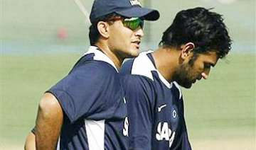 dhoni reaping fruits of seeds sown by ganguly...