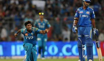 dinda wins it for india a in eliminator - India TV