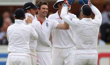 anderson picks five for as india lose first test...