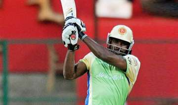gayle blitzkrieg helps rcb beat kkr takes them to...