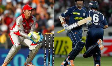 gilchrist sangakkara all set for a pitched battle...