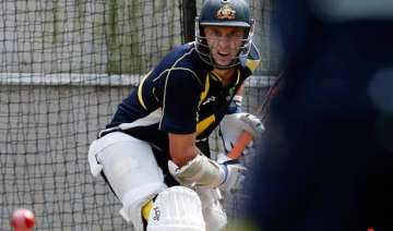 hussey is a bit nervous ahead of scg test - India...