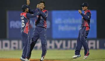 icc world t20 nepal tops afghanistan by 9 runs at...
