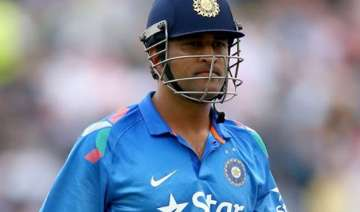 ms dhoni returns to action as india takes on...