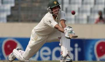 pakistan lead by 446 after reaching tea on 92 3...