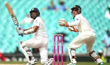aus vs ind india 73 1 at lunch on 5th day of 4th...