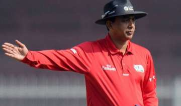 s ravi replaces aleem dar for 4th india south...