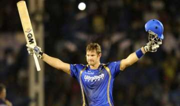 ipl 8 ton up watson powers rr to 199/6 against...