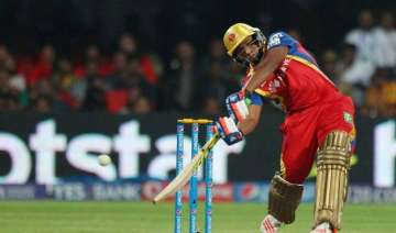 ipl 8 young sarfaraz powers rcb to 200 for 7 vs...
