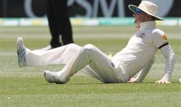 aus vs ind clarke limps off taken to hospital for...