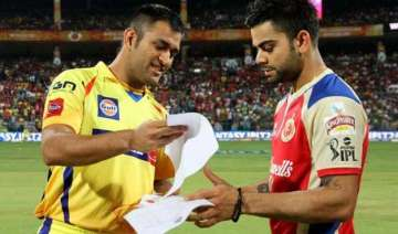 ipl 8 it is dhoni vs kohli battle in knockout...