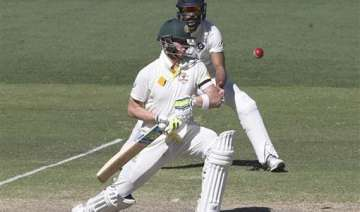 latest updates aus 290/5 at stumps lead ind by...