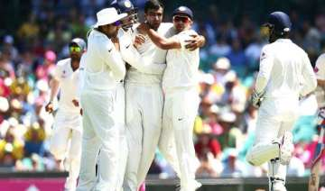 aus vs ind ashwin strikes early but australia...