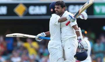 aus vs ind vijay rahane guide india to 311 4 on...
