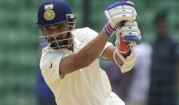 india take 266 run lead at lunch - India TV