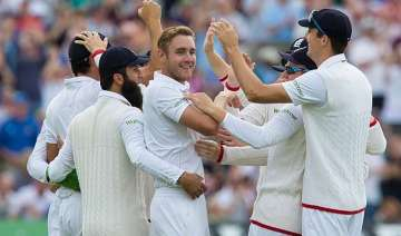 ashes australia all out for 60 broad takes career...