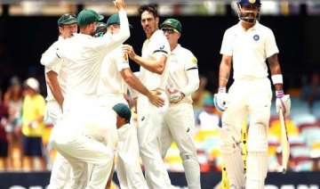aus vs ind india all out for 224 sets australia...