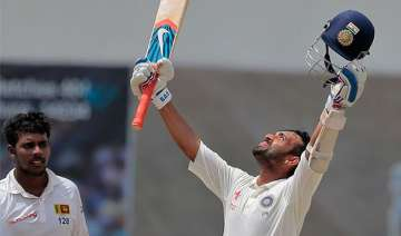 2nd test day 4 rahane ton leads the way for india...
