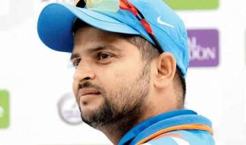 suresh raina rested from zimbabwe tour after...