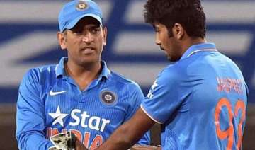 asia cup twin setback for india as dhoni bumrah...