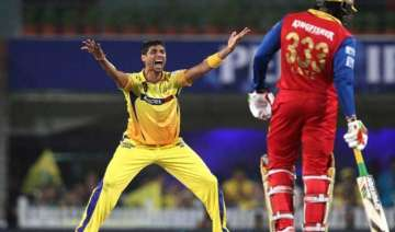 ipl 8 nehra s early strikes help csk restrict rcb...