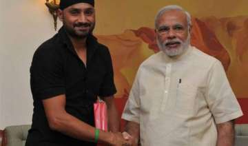 harbhajan singh invites pm narendra modi to his...