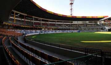 solar power lights up bengaluru cricket stadium -...