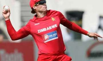 zimbabwe off spinner suspended from bowling -...