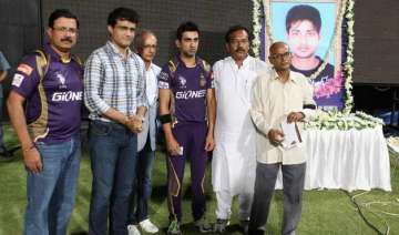tribute to late cricketer ankit keshri at eden...