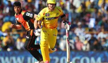 ipl 8 chennai super kings vs sunrisers hyderabad...