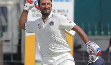 3rd test day 2 cheteshwar pujara ton helps india...