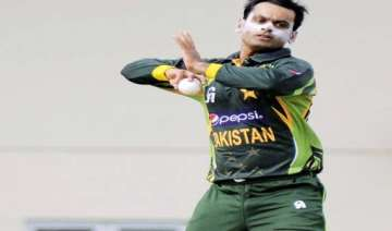hafeez will be in india for bowling tests...