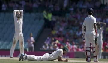 latest updates india 342/5 at stumps trail aus by...