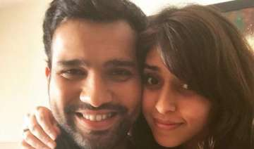 cricketer rohit sharma gets engaged - India TV
