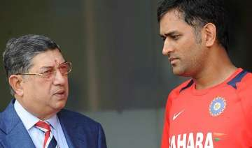 dhoni criticised for meeting srinivasan in...