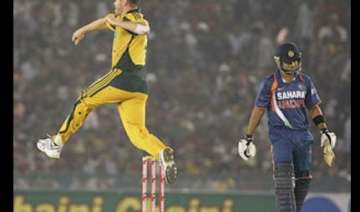 australia defeat india by 24 runs to level series...