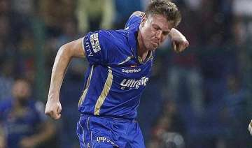 ipl 8 james faulkner stars in rajasthan s 26 run...