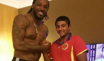 chris gayle has invited me to attend his wedding...