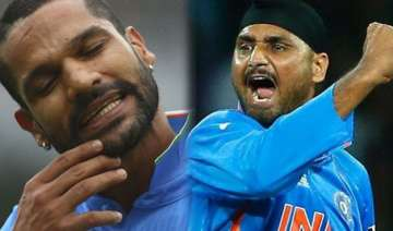 watch when shikhar dhawan locked arms with...