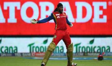 ipl 8 gayle leads rcb to big win with whirlwind...
